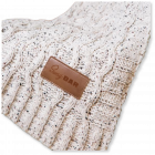 Cable Knit Chenille Blanket