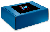 Colored Mailer Box with Large Custom Sticker copy