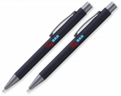 Metal Soft Touch Pens (2 pack)